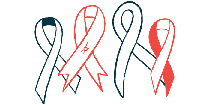 National Sickle Cell Awareness Month   Sickle Cell Disease News   illustration of awareness ribbons